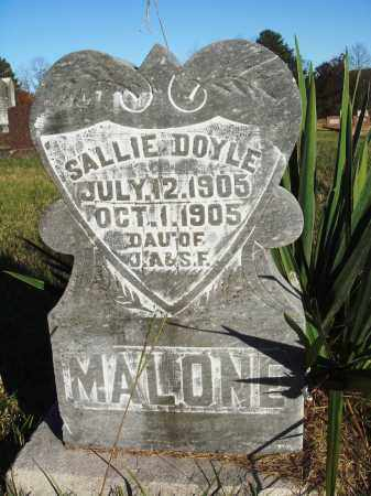 MALONE, SALLIE DOYLE - Conway County, Arkansas | SALLIE DOYLE MALONE - Arkansas Gravestone Photos