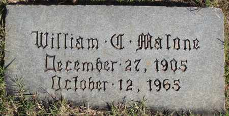 MALONE, WILLIAM - Conway County, Arkansas | WILLIAM MALONE - Arkansas Gravestone Photos