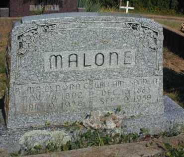 GRISWOOD MALONE, ALMA LENORA - Conway County, Arkansas | ALMA LENORA GRISWOOD MALONE - Arkansas Gravestone Photos