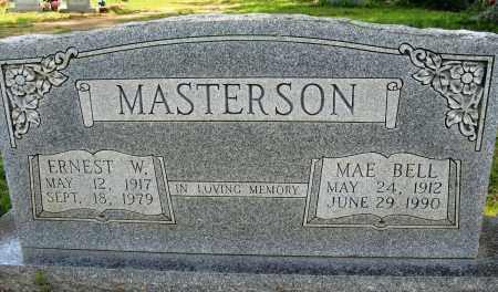 MASTERSON, ERNEST W - Conway County, Arkansas | ERNEST W MASTERSON - Arkansas Gravestone Photos