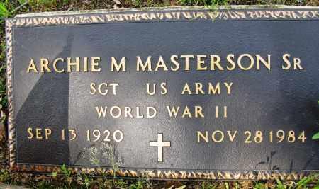 MASTERSON, SR (VETERAN WWII), ARCHIE M - Conway County, Arkansas | ARCHIE M MASTERSON, SR (VETERAN WWII) - Arkansas Gravestone Photos