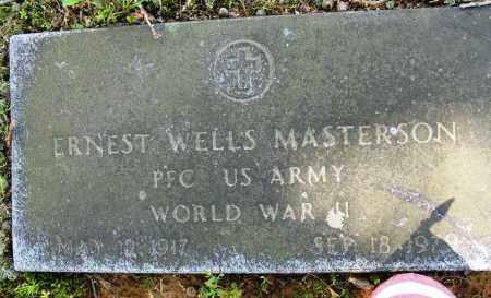 MASTERSON (VETERAN WWII), ERNEST WELLS - Conway County, Arkansas | ERNEST WELLS MASTERSON (VETERAN WWII) - Arkansas Gravestone Photos