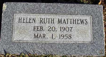 MATTHEWS, HELEN RUTH - Conway County, Arkansas | HELEN RUTH MATTHEWS - Arkansas Gravestone Photos