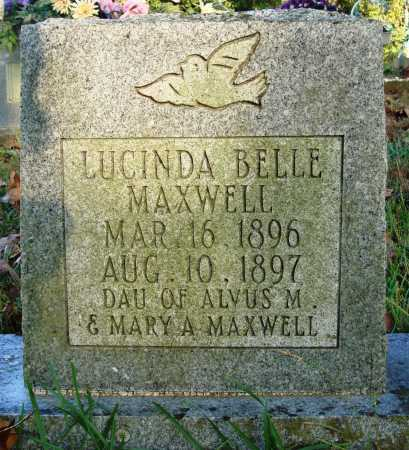 MAXWELL, LUCINDA BELLE - Conway County, Arkansas | LUCINDA BELLE MAXWELL - Arkansas Gravestone Photos