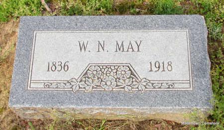 MAY, WILLIAM N. - Conway County, Arkansas | WILLIAM N. MAY - Arkansas Gravestone Photos