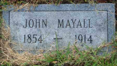MAYALL, JOHN - Conway County, Arkansas | JOHN MAYALL - Arkansas Gravestone Photos