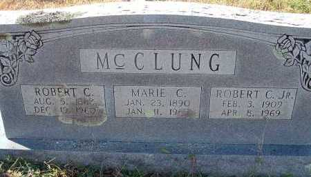 MCCLUNG, ROBERT C. - Conway County, Arkansas | ROBERT C. MCCLUNG - Arkansas Gravestone Photos