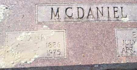 MCDANIEL, DINK - Conway County, Arkansas | DINK MCDANIEL - Arkansas Gravestone Photos