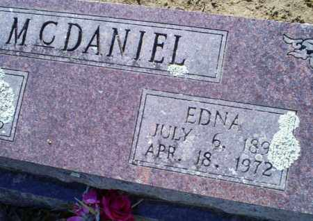 MCDANIEL, EDNA - Conway County, Arkansas | EDNA MCDANIEL - Arkansas Gravestone Photos