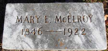 MCELROY, MARY E. - Conway County, Arkansas | MARY E. MCELROY - Arkansas Gravestone Photos