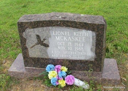 MCKASKLE, LIONEL KEITH - Conway County, Arkansas | LIONEL KEITH MCKASKLE - Arkansas Gravestone Photos