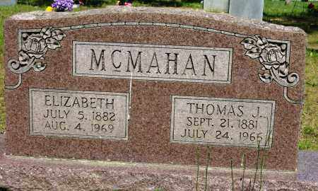MCMAHAN, THOMAS J - Conway County, Arkansas | THOMAS J MCMAHAN - Arkansas Gravestone Photos