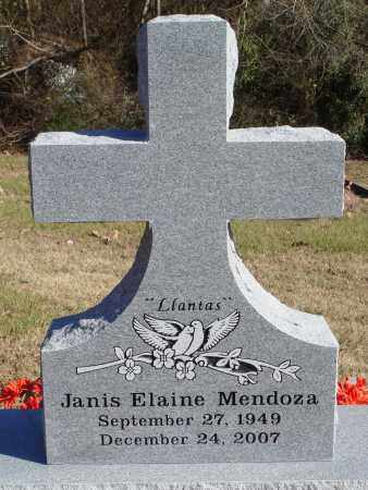 MENDOZA, JANIS ELAINE - Conway County, Arkansas | JANIS ELAINE MENDOZA - Arkansas Gravestone Photos