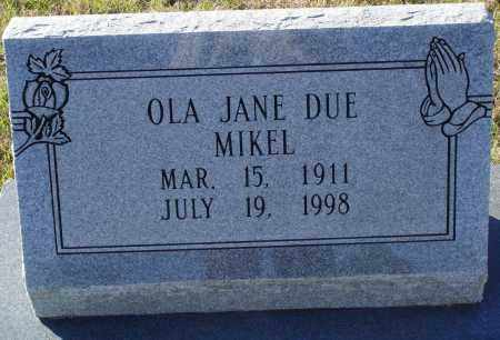 MIKEL, OLA JANE - Conway County, Arkansas | OLA JANE MIKEL - Arkansas Gravestone Photos