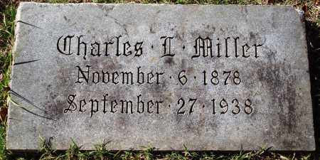 MILLER, CHARLES L. - Conway County, Arkansas | CHARLES L. MILLER - Arkansas Gravestone Photos