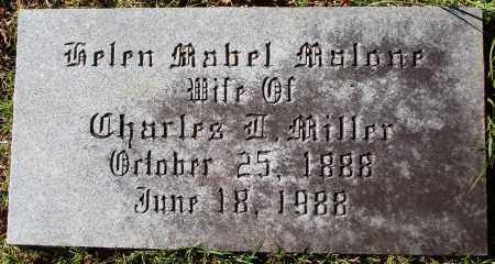 MILLER, HELEN MABEL - Conway County, Arkansas | HELEN MABEL MILLER - Arkansas Gravestone Photos