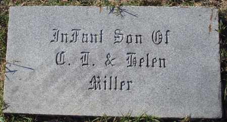 MILLER, INFANT SON - Conway County, Arkansas | INFANT SON MILLER - Arkansas Gravestone Photos