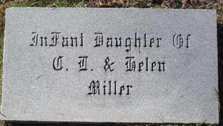 MILLER, INFANT DAUGHTER - Conway County, Arkansas | INFANT DAUGHTER MILLER - Arkansas Gravestone Photos