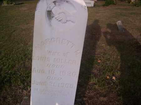 MILLER, MARGARET MELINDA - Conway County, Arkansas | MARGARET MELINDA MILLER - Arkansas Gravestone Photos