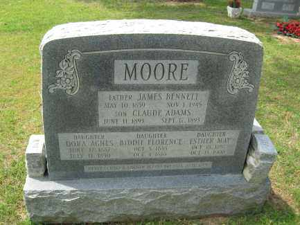 MOORE, CLAUDE - Conway County, Arkansas | CLAUDE MOORE - Arkansas Gravestone Photos
