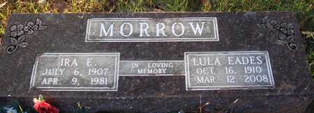 MORROW, IRA E. - Conway County, Arkansas | IRA E. MORROW - Arkansas Gravestone Photos
