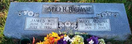 MORROW, JAMES W. - Conway County, Arkansas | JAMES W. MORROW - Arkansas Gravestone Photos