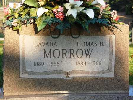 MORROW, THOMAS B. - Conway County, Arkansas | THOMAS B. MORROW - Arkansas Gravestone Photos