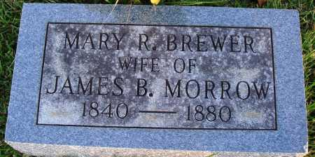 MORROW, MARY R. - Conway County, Arkansas | MARY R. MORROW - Arkansas Gravestone Photos