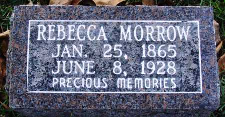 MORROW, REBECCA MANDY - Conway County, Arkansas | REBECCA MANDY MORROW - Arkansas Gravestone Photos
