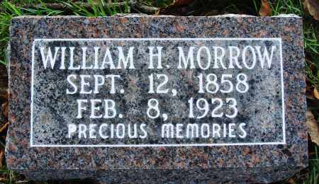 MORROW, WILLIAM H. - Conway County, Arkansas | WILLIAM H. MORROW - Arkansas Gravestone Photos