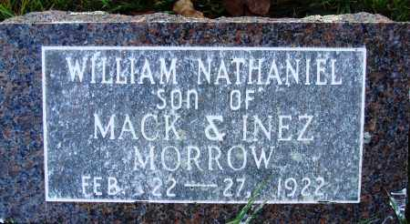 MORROW, WILLIAM NATHANIEL - Conway County, Arkansas | WILLIAM NATHANIEL MORROW - Arkansas Gravestone Photos