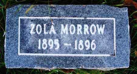 MORROW, ZOLA - Conway County, Arkansas | ZOLA MORROW - Arkansas Gravestone Photos