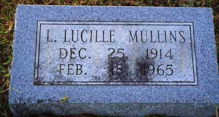 MULLINS, L. LUCILLE - Conway County, Arkansas | L. LUCILLE MULLINS - Arkansas Gravestone Photos