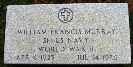 MURRAY (VETERAN WWII), WILLIAM FRANCIS - Conway County, Arkansas | WILLIAM FRANCIS MURRAY (VETERAN WWII) - Arkansas Gravestone Photos