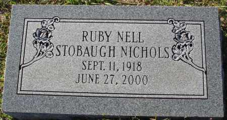 NICHOLS, RUBY NELL - Conway County, Arkansas | RUBY NELL NICHOLS - Arkansas Gravestone Photos