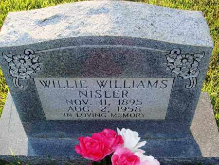 WILLIAMS NISLER, WILLIE - Conway County, Arkansas | WILLIE WILLIAMS NISLER - Arkansas Gravestone Photos