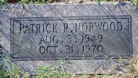 NORWOOD, PATRICK R. - Conway County, Arkansas | PATRICK R. NORWOOD - Arkansas Gravestone Photos