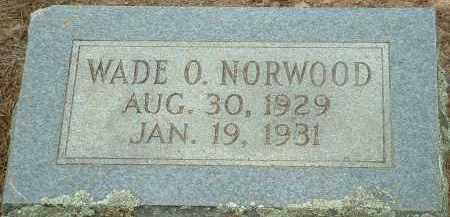 NORWOOD, WADE O. - Conway County, Arkansas | WADE O. NORWOOD - Arkansas Gravestone Photos