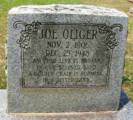 OLIGER, JOE - Conway County, Arkansas | JOE OLIGER - Arkansas Gravestone Photos