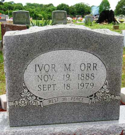 ORR, IVOR M - Conway County, Arkansas | IVOR M ORR - Arkansas Gravestone Photos