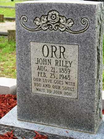 ORR, JOHN RILEY - Conway County, Arkansas | JOHN RILEY ORR - Arkansas Gravestone Photos