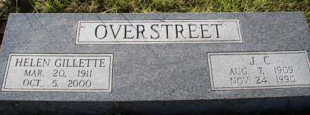 OVERSTREET, J. C. - Conway County, Arkansas | J. C. OVERSTREET - Arkansas Gravestone Photos