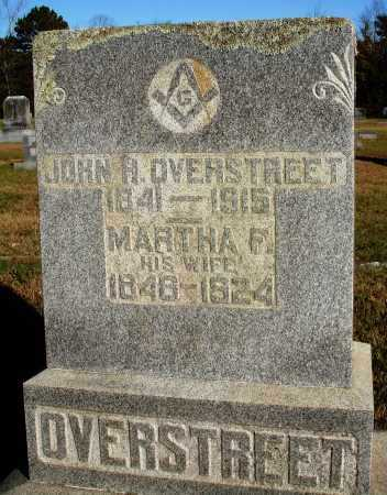 OVERSTREET, MARTHA F. - Conway County, Arkansas | MARTHA F. OVERSTREET - Arkansas Gravestone Photos