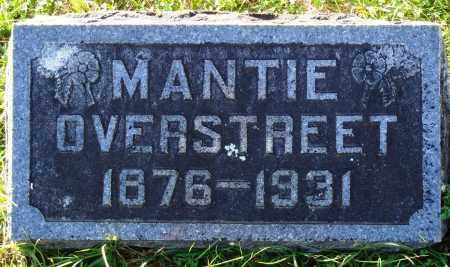 OVERSTREET, MANTIE - Conway County, Arkansas | MANTIE OVERSTREET - Arkansas Gravestone Photos
