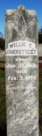 OVERSTREET, WILLIE E. - Conway County, Arkansas | WILLIE E. OVERSTREET - Arkansas Gravestone Photos