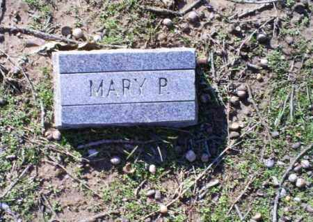 P, MARY - Conway County, Arkansas | MARY P - Arkansas Gravestone Photos