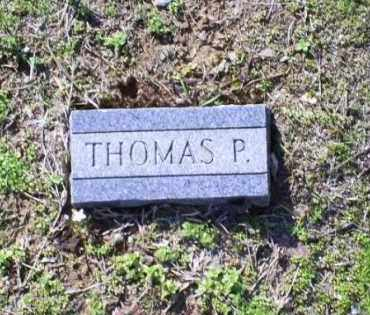P, THOMAS - Conway County, Arkansas | THOMAS P - Arkansas Gravestone Photos