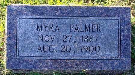PALMER, MYRA - Conway County, Arkansas | MYRA PALMER - Arkansas Gravestone Photos