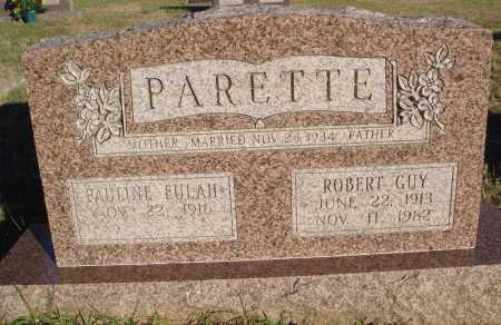 PARETTE, ROBERT GUY - Conway County, Arkansas   ROBERT GUY PARETTE - Arkansas Gravestone Photos