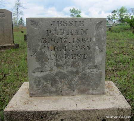 PARHAM, JESSE FAY - Conway County, Arkansas | JESSE FAY PARHAM - Arkansas Gravestone Photos